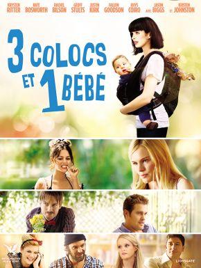 sortie dvd  3 Colocs Et 1 Bébé