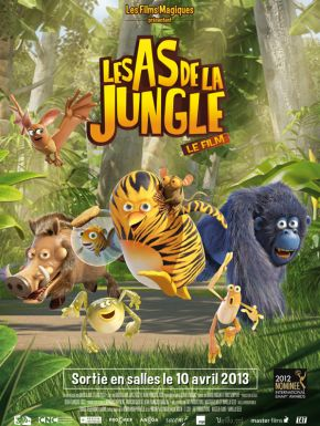 Jaquette dvd Les As De La Jungle - Opération Banquise