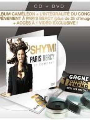 Jaquette dvd Shy'm  - Cameleon + Live A Bercy