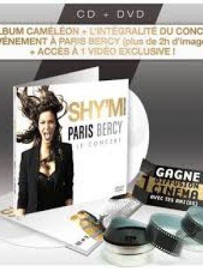 Shy'm  - Cameleon + Live A Bercy en DVD et Blu-Ray