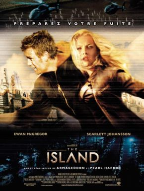 Sortie DVD The Island
