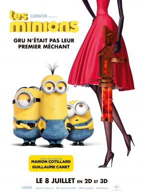 Jaquette dvd Les Minions