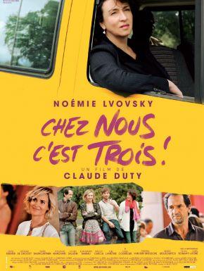 DVD Chez Nous C'est Trois !