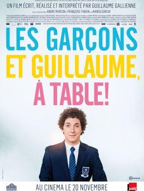 Sortie DVD Les Garçons Et Guillaume, à Table !
