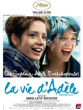 La Vie D'Adèle Chapitres 1 & 2 DVD et Blu-Ray