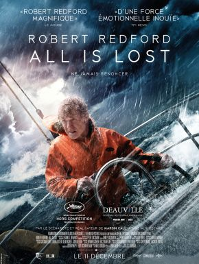 All Is Lost DVD et Blu-Ray