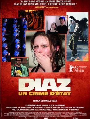 Jaquette dvd Diaz - Un Crime D'État