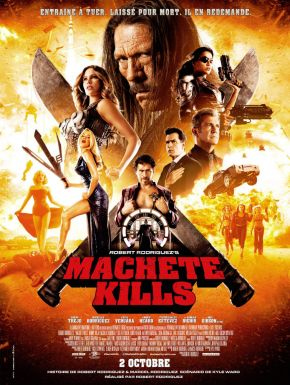 Machete Kills DVD et Blu-Ray