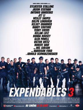 Jaquette dvd Expendables 3