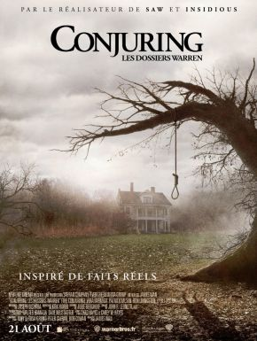 Jaquette dvd Conjuring les dossiers Warren