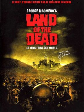 DVD Land of the dead