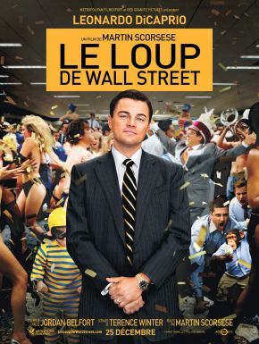 Jaquette dvd Le Loup De Wall Street