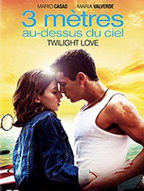 Jaquette dvd 3 mètres au dessus du ciel - Twilight Love