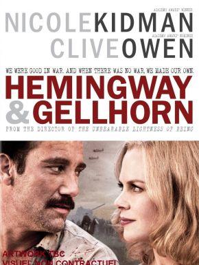 Jaquette dvd Hemingway & Gellhorn