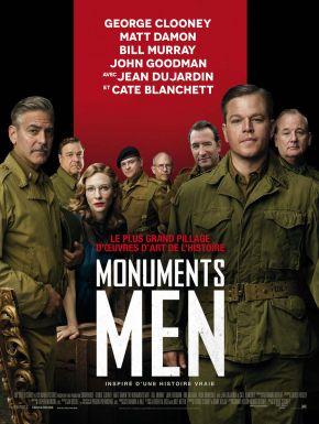 Jaquette dvd Monuments Men