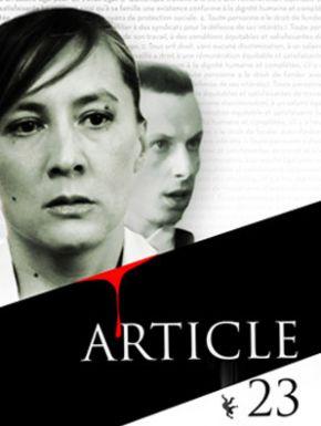 Jaquette dvd Article 23