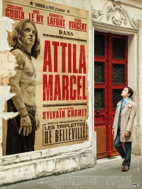 Jaquette dvd Attila Marcel