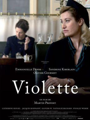 Jaquette dvd Violette