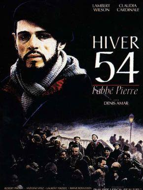 Jaquette dvd Hiver 54, L'abbé Pierre