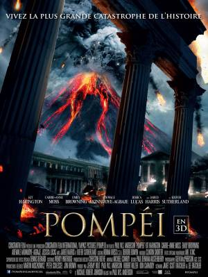 Jaquette dvd Pompéi