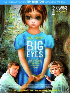 Big Eyes DVD et Blu-Ray