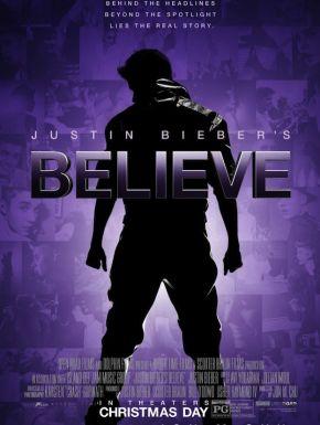 Justin Bieber's Believe DVD et Blu-Ray