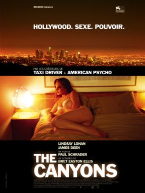 The Canyons DVD et Blu-Ray