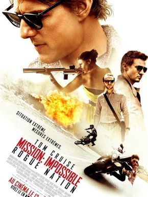 Mission: Impossible - Rogue Nation DVD et Blu-Ray