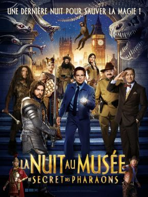 La Nuit Au Musée: Le Secret Des Pharaons DVD et Blu-Ray