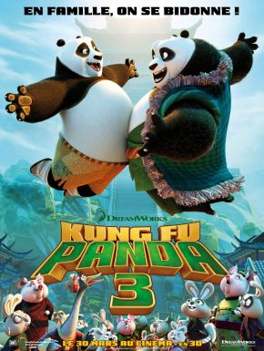 DVD Kung Fu Panda 3