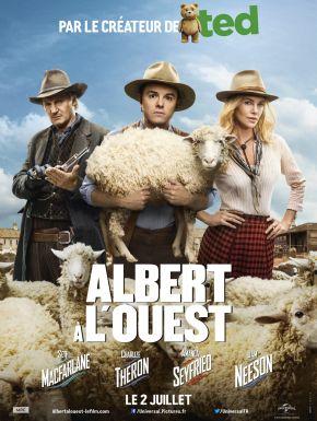 Albert à L'ouest DVD et Blu-Ray