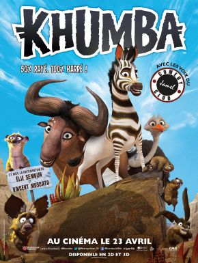 Jaquette dvd Khumba