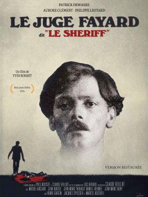 Sortie DVD Le Juge Fayard Dit Le Shériff
