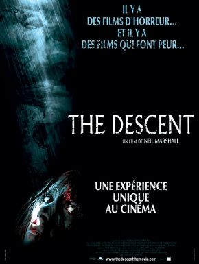 The Descent DVD et Blu-Ray