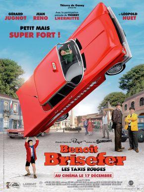 Jaquette dvd Benoît Brisefer : Les Taxis Rouges