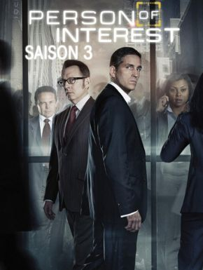 DVD Person Of Interest Saison 3