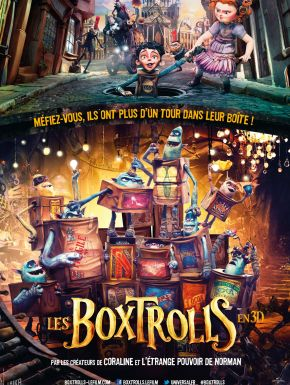 Sortie DVD Les Boxtrolls