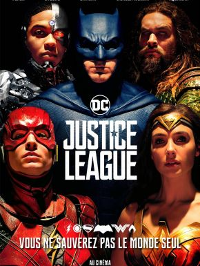 Jaquette dvd Justice League