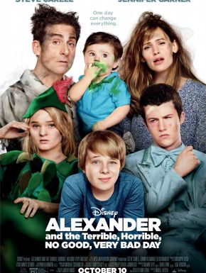 DVD Alexander And The Terrible, Horrible, No Good, Very Bad Day