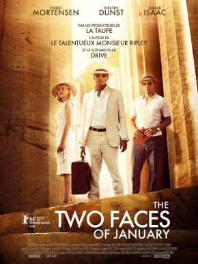 Jaquette dvd The Two Faces Of January