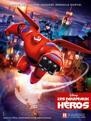 Sortie DVD Les Nouveaux Héros