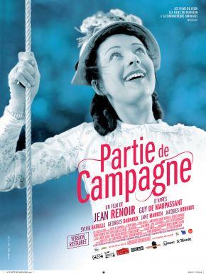 sortie dvd  Partie De Campagne