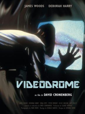 Videodrome DVD et Blu-Ray
