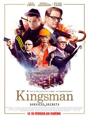 Kingsman: Services Secrets DVD et Blu-Ray