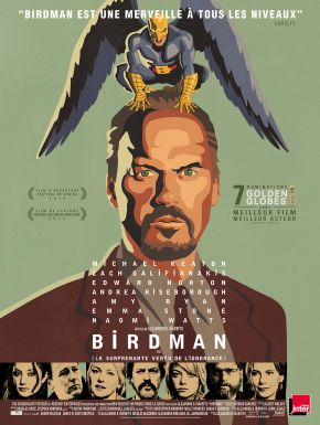 Birdman DVD et Blu-Ray