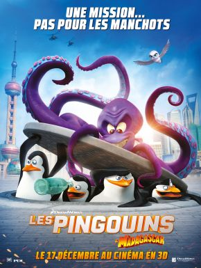 Sortie DVD Les Pingouins de Madagascar