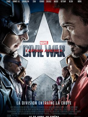 sortie dvd	  Captain America: Civil War