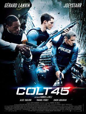 Jaquette dvd Colt 45