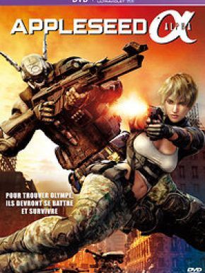 Appleseed: Alpha DVD et Blu-Ray