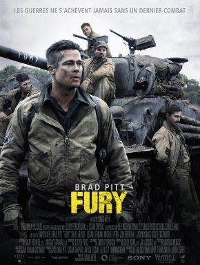 Fury DVD et Blu-Ray